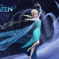 Frozen 1 (2013) Movie Poster Printed on Premium Photo Paper. 27 X 42 V006