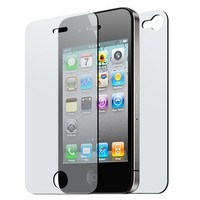Front and Back Reusable Screen Protector for Apple iPhone 4