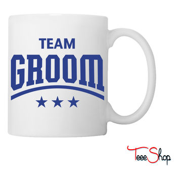 Team Groom Coffee & Tea Mug
