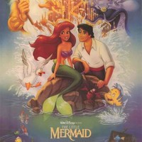 The Little Mermaid Disney Movie Poster 24x36
