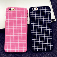Ultrathin Grid Case Best Protection Cover for iPhone 5s 6 6s Plus Gift-151