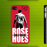 Derrick Rose NBA Basketball Rose Before Hoes iPhone 4 / 4S case iPhone 5 case Samsung Galaxy S2 case Samsung Galaxy S3 case