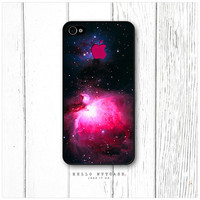 iPhone 4 and 4S case Nebula and Logo