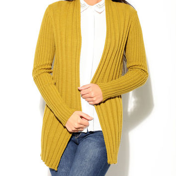 women's fashion gift for her womens long cardigan woman womens clothing oversized cardigan sweater Mustard cardigan women's knitwear