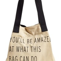 Women's TOMS 'One for One' Cotton Blend Tote