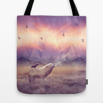 In Search of Solace Tote Bag by Soaring Anchor Designs | Society6