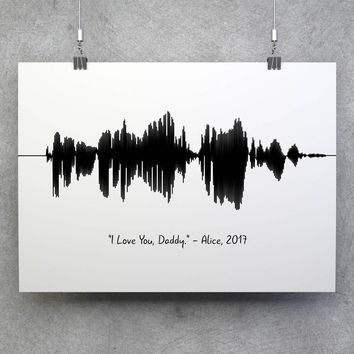 Voice Wave, Sound Wave Print, Voice Wave Print, Voice Art Print, Soundwave Art Print, Soundwave Decor, Custom Wave, Soundwave Print