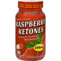 Fusion Diet Systems Raspberry Ketons - 90 Capsules