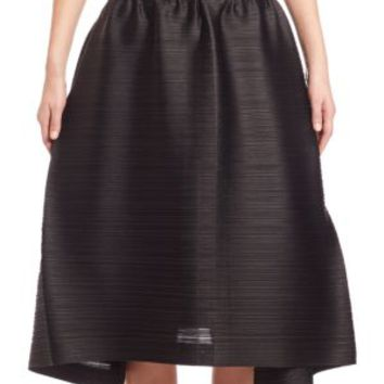 Pleats Please Issey Miyake - Solid Bounce Skirt