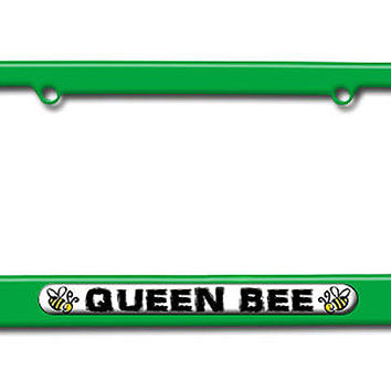 Queen Bee - Bumble Bee License Plate Frame