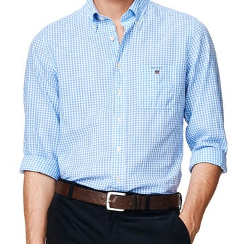 Gingham Handloom Madras Fitted Button Down