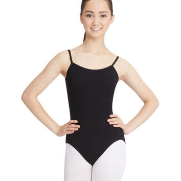 Adult Camisole Leotard with Adjustable Straps (Black) CC100