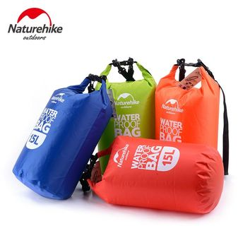 15L Waterproof Dry Camping Bag Pouch