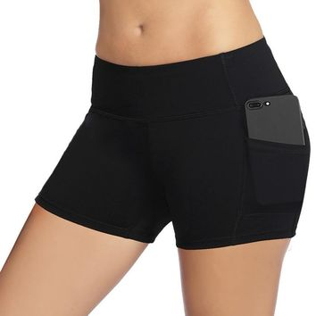Dragon Fit Women Gym Compression Booty Shorts Spandex Ladies Volleyball Running lycra Athletic
