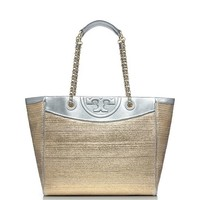FLEMING METALLIC MEDIUM TOTE