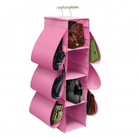 Hanging Handbag 10 Pocket Closet Storage Organizers