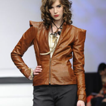 Warrior Jacket in Vegetable Tanned Leather