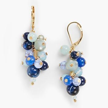 Beaded Cluster Earrings | Talbots