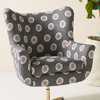 SUNO for Anthropologie Adavale Swivel Chair