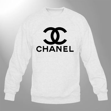 best chanel sweater products on wanelo. Black Bedroom Furniture Sets. Home Design Ideas