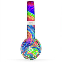The Neon Color Fusion V9 Skin for the Beats by Dre Headphones (All Versions Available)