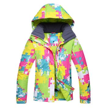 Arctix weather Snowboard Ski Jacket Female Keep Warmth Snow Coats Woman Wind and Water Resistant Breathable Skiing Jackets