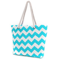 Summer Beach Holiday Women striped Canvas Wave Shoulder Bags Ladies Shopping School Travel Reuseable Hemp Rope Totes Fashion