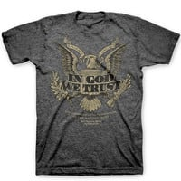 Unisex Tee Shirt In God We Trust Tee Women's Men's Clothing Limited Availability Christian Tee