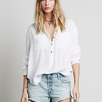Free People Womens Runaway Slouch