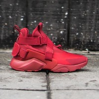hcxx NIKE - Girl - GS Air Huarache City - Red/Black