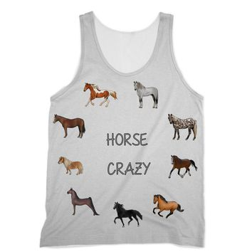 Horse Crazy Designs by Amitie Sublimation Vest