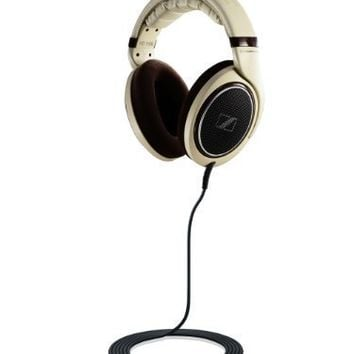 Sennheiser HD 598 Headphones (Burl Wood Accents)
