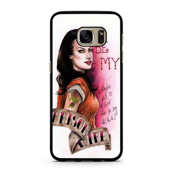 Orange Is The New Black Alex Vause 4 Samsung Galaxy S7 Case