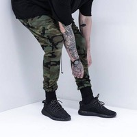 Mens Joggers Pants Hip Hop Camouflage Men Pants Military Joggers kanye west Harem Pants Men Skate Sweatpants  Joggers Trousers