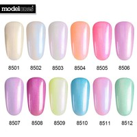 Newest 7ML Pearl Gel Polish Shell Color Nail Gel Polish Long Lasting Professional Nail Polish