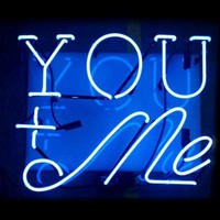 """You + Me"" Neon Sign"