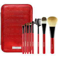 SEPHORA COLLECTION 15th Anniversary Ultimate Travel  Brush Set