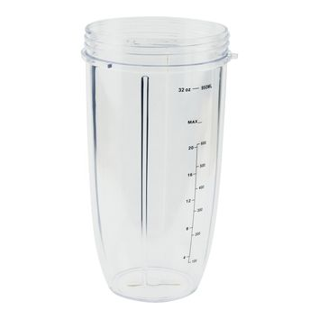 NutriBullet 32 oz Tall Colossal Cup Oversized Huge Mug with Measurement NB-101s