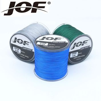 The 300m 4 stands Fishing Line 10-100LB To Choice Power PE Braided Fishing Wire multifilament line fishing Rope Cord Carp