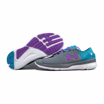 Under Armour GGS Speedform Apollo 2 Steel Grey/Purple 1266301-036