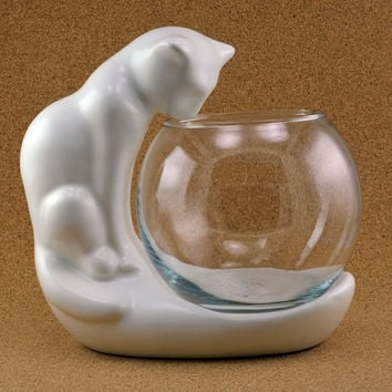 Hager Cat and Bowl