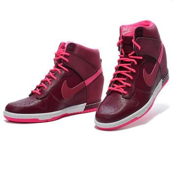 Nike Dunk Sky Hi Essential Inside Heighten woman Leisure High Help Board Shoes3