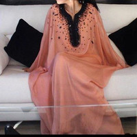 alabia jalabia fancy kaftan wedding gown