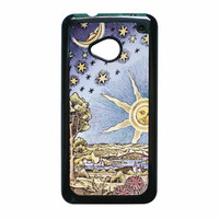 Astrology 1500S Painting Print HTC One M7 Case