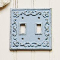 Double Light Switch Plate Cover - Choose your Color - Colorful Cast and Crew