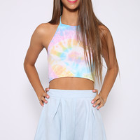 O'Mighty - Rainbow Hoe Hi-Neck Halter - Print