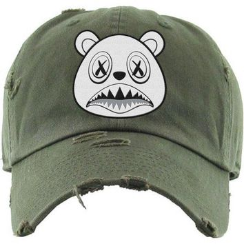 Ghost Baws Olive Dad Hat