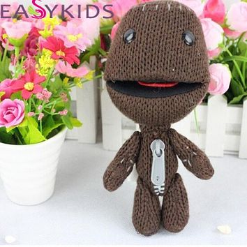Sackboy Cuddly Knitted Stuffed Doll Little Big Planet Plush Toy Figure Toys Cute Kids Animal Comfort Doll kids gifr