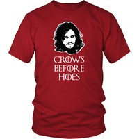 Game of Thrones T Shirt - Crows Before Hoes - TV & Movies