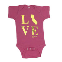 Fayebeline Brand California Love Baby Onesuit - Multiple Sizes and Colors